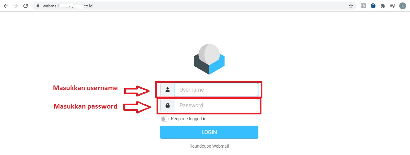 Cara membuka email perusahaan